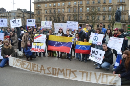 SOS Venezuela: A Message from George Square
