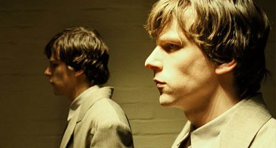 Jesse Eisenberg plays two roles in The Double