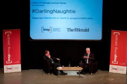 Alistair Darling Tackles Tough Questions from Nationalists at Independence Debate.