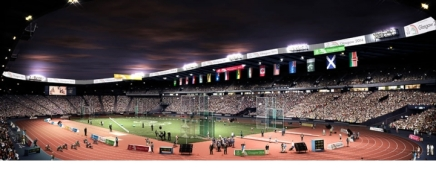 Hampden's New Look for The Commonwealth Games Revealed