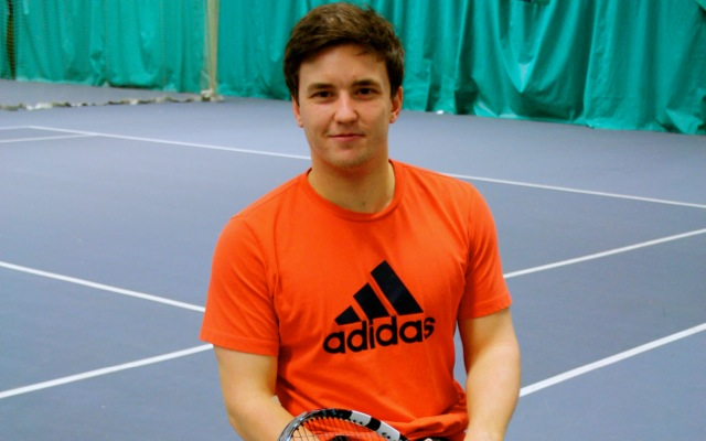 Gordon Reid: UK's  #1 wheelchair tennis player makes Scotland proud.