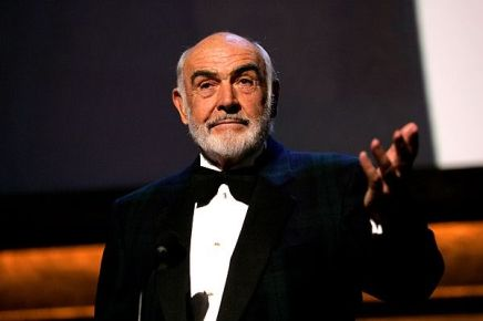 Sir Sean Connery: ' There is no more creative act than creating a nation'