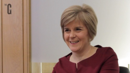 Exclusive Interview: Nicola Sturgeon, Deputy First Minister