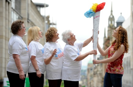 The Big Song Relay en route as Glasgow 2014 fast approaches